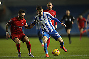 Brighton & Hove Albion striker Solomon March (20) during the EFL Trophy Southern Group G match between U23 Brighton and Hove Albion and Leyton Orient at the American Express Community Stadium, Brighton and Hove, England on 8 November 2016.