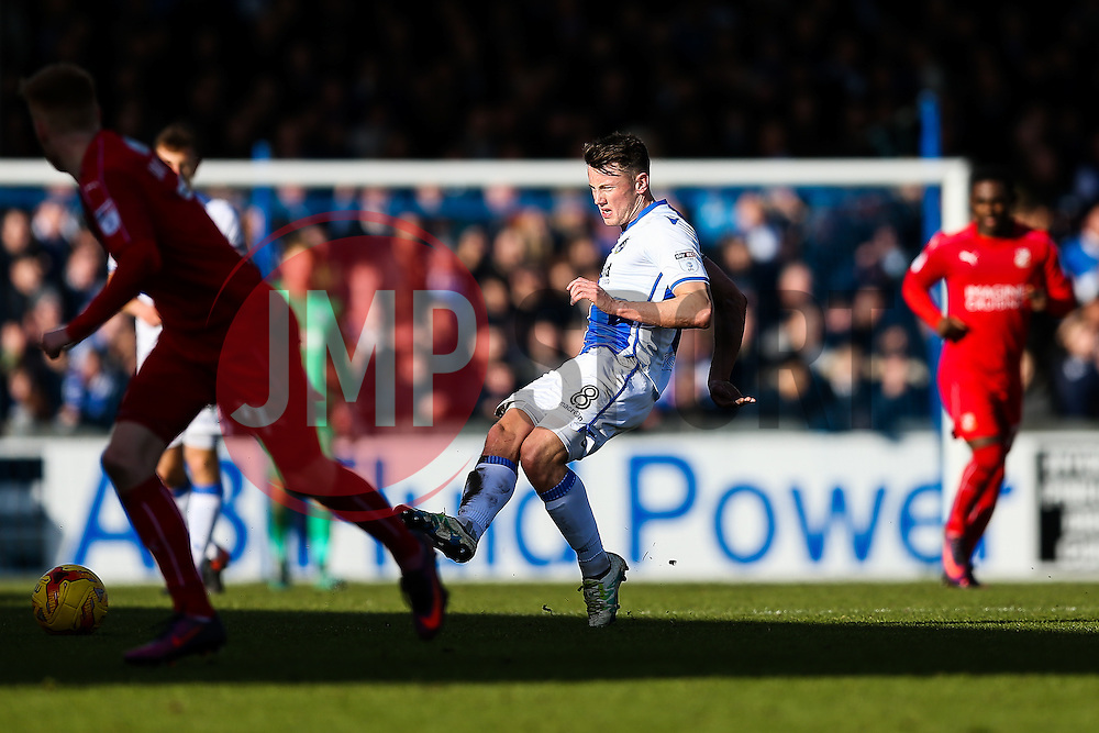 Ollie Clarke of Bristol Rovers - Rogan Thomson/JMP - 28/01/2017 - FOOTBALL - Memorial Stadium - Bristol, England - Bristol Rovers v Swindon Town - Sky Bet League One.