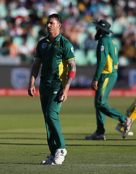 Dale Steyn of South Africa during the 3rd ODI match between South Africa and Australia held at Kingsmead Stadium in Durban, Kwazulu Natal, South Africa on the 5th October  2016<br /> <br /> Photo by: Steve Haag/ RealTime Images