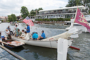Henley on Thames. United Kingdom.      Messing about on the river. Sunday,  03/07/2016,      2016 Henley Royal Regatta, Henley Reach.   [Mandatory Credit Peter Spurrier/Intersport Images]