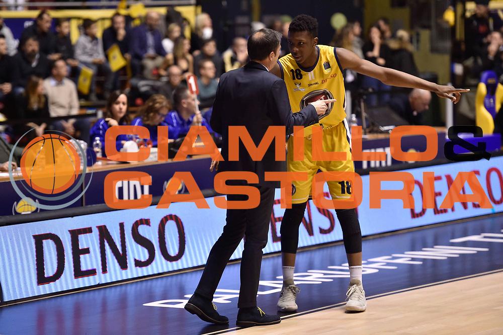 Okeke David Albright Banchi Luca<br /> FIAT Torino - EA7 Emporio Armani Milano<br /> Lega Basket Serie A 2017-2018<br /> Torino 10/12/2017<br /> Foto M.Matta/Ciamillo & Castoria