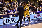 Okeke David Albright Banchi Luca<br /> FIAT Torino - EA7 Emporio Armani Milano<br /> Lega Basket Serie A 2017-2018<br /> Torino 10/12/2017<br /> Foto M.Matta/Ciamillo &amp; Castoria