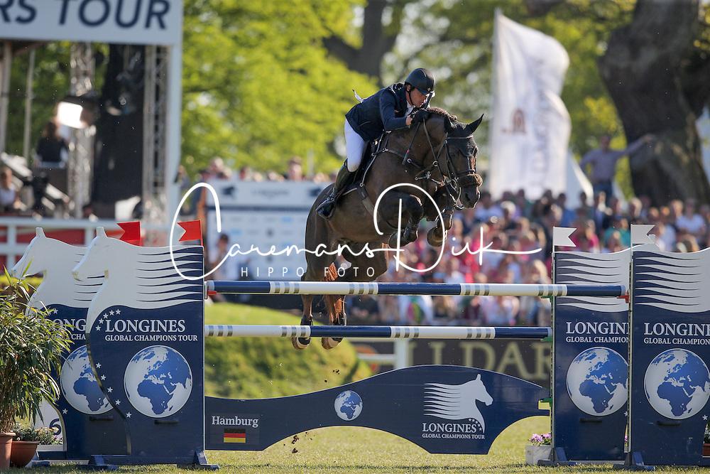 Smolders Harrie, (NED), Don VHP Z<br /> Longines Global Champions Tour - Grand Prix of Hamburg<br /> Hamburg - Hamburger Derby 2016<br /> &copy; Hippo Foto - Stefan Lafrentz