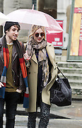 20.DECEMBER.2012. LONDON<br /> <br /> FEARNE COTTON AND KYE SONES LEAVING THE STUDIOS OF BBC RADIO 1.<br /> <br /> BYLINE: EDBIMAGEARCHIVE.CO.UK<br /> <br /> *THIS IMAGE IS STRICTLY FOR UK NEWSPAPERS AND MAGAZINES ONLY*<br /> *FOR WORLD WIDE SALES AND WEB USE PLEASE CONTACT EDBIMAGEARCHIVE - 0208 954 5968*