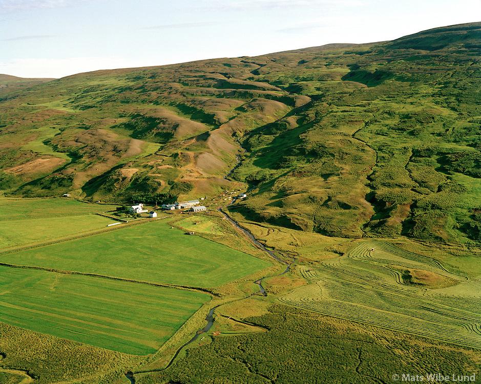 Ljósavatn séð til suðurs, Þingeyjarsveit áður Ljósavatnshreppur / Ljosavatn viewing south, Thingeyjarsveit former Ljosavatnshreppur.