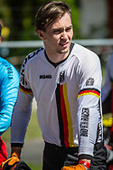 #227 (WEBSTER Liam) GER at Round 4 of the 2018 UCI BMX Superscross World Cup in Papendal, The Netherlands