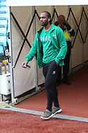 Cameron Jerome of Norwich before the Sky Bet Championship match at Villa Park, Birmingham<br /> Picture by Paul Chesterton/Focus Images Ltd +44 7904 640267<br /> 01/04/2017