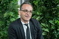 15 MAY 2019, BERLIN/GERMANY:<br /> Heiko Maas, SPD, Bundesaussenminister, waehrend einem Interview, Restaurant des Deutschen Bundestages, Reichstagsgebaeude<br /> IMAGE: 20190515-01-022