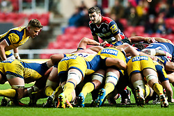 Will Cliff of Bristol Rugby looks on - Rogan Thomson/JMP - 26/12/2016 - RUGBY UNION - Ashton Gate Stadium - Bristol, England - Bristol Rugby v Worcester Warriors - Aviva Premiership Boxing Day Clash.