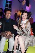 Osman Yousefzada; STEFANIA PRAMMA; , Pop party. the birthday celebration of twin sisters Valeria Napoleone and Stefania Pramma. Studio Voltaire, London SW4. 17 May 2013.