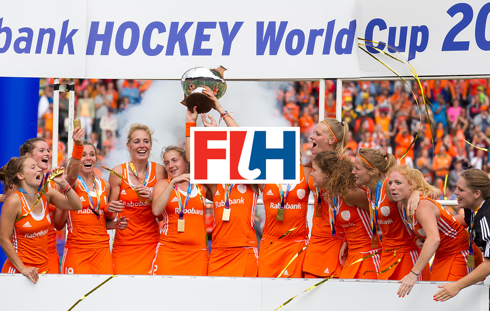 Hockey World Cup 2014<br /> The Hague, Netherlands <br /> Day 13 World Cup Final <br /> Australia v Netherlands<br /> <br /> <br /> Photo: Grant Treeby<br /> www.treebyimages.com.au