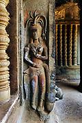 Apsara at Angkor Wat temple, Siem Reap, Cambodia