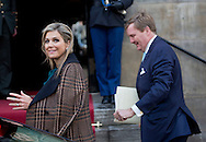Amsterdam 07-01-2016<br /> <br /> King Willem-Alexander and Queen Maxima give New Years reception for the members of Parliament.<br /> <br /> <br /> <br /> Photo; Royalportraits Europe/Bernard Ruebsamen