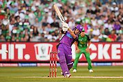 14th January 2019, Melbourne Cricket Ground, Melbourne, Australia; Australian Big Bash Cricket, Melbourne Stars versus Hobart Hurricanes;  D'Arcy Short of the Hobart Hurricanes hits the ball through the leg side