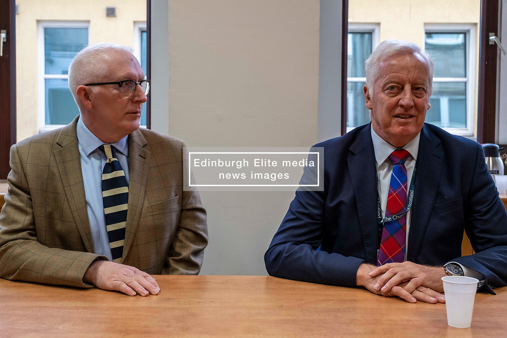 Pictured: Reverend Martin Fair and Reverend Dr George Whyte, Principal Clerk of the Church of Scotland<br />