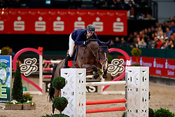 FUCHS Martin (SUI), Dubai du Bois Pinchet<br /> Leipzig - Partner Pferd 2018   <br /> Internationale Zeitspringprüfung Preis des Stern Auto Center<br /> © www.sportfotos-lafrentz.de/Stefan Lafrentz