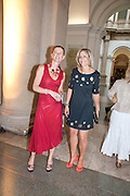 FEDERIKA RAYMER; EMILY MAITLIS;  , Tate Summer Party. Celebrating the opening of the  Fiona Banner. Harrier and Jaguar. Tate Britain. Annual Duveens Commission 29 June 2010. -DO NOT ARCHIVE-© Copyright Photograph by Dafydd Jones. 248 Clapham Rd. London SW9 0PZ. Tel 0207 820 0771. www.dafjones.com.