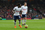 Serge Aurier (24) of Tottenham Hotspur during the Premier League match between Bournemouth and Tottenham Hotspur at the Vitality Stadium, Bournemouth, England on 11 March 2018. Picture by Graham Hunt.