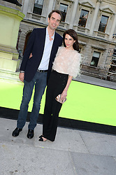 FRITZ VON WESTENHOLZ and CAROLINE SIEBER at the preview party for The Royal Academy Of Arts Summer Exhibition 2013 at Royal Academy of Arts, London on 5th June 2013.
