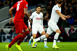 Son Heung-Min of Tottenham Hotspur - Rogan/JMP - 01/10/2019 - FOOTBALL - Tottenham Hotspur Stadium - London, England - Tottenham Hotspur v Bayern Munich - UEFA Champions League Group B.