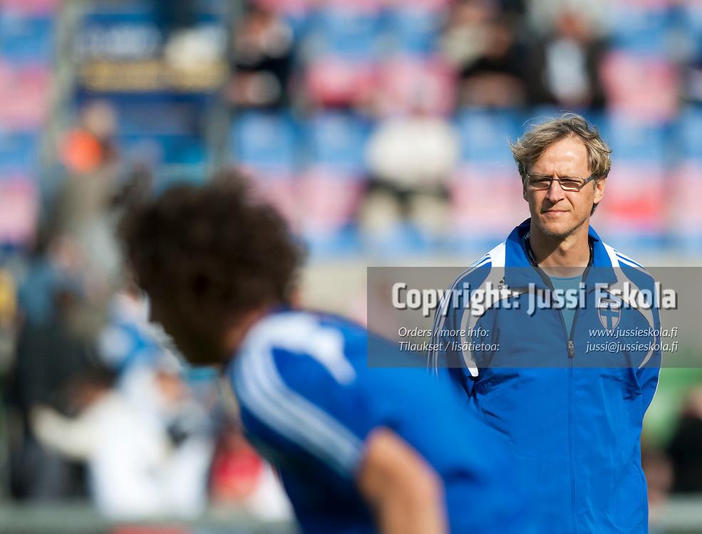 Markku Kanerva. Saksa - Suomi. Alle 21-vuotiaiden EM-turnaus. Halmstad, Ruotsi 18.6.2009. Photo: Jussi Eskola