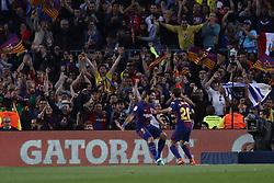 May 6, 2018 - Barcelona, Catalonia, Spain - May 6, 2018 - Camp Nou, Barcelona, Spain - LaLiga Santander- FC Barcelona v Real Madrid CF; Luis Suarez of FC Barcelona scores the 1-0. (Credit Image: © Marc Dominguez via ZUMA Wire)