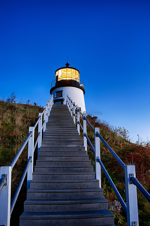 Owls Head Light, Maine,  USA