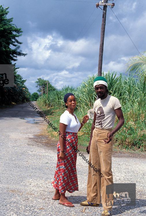Peter Tosh and wife Marlene - Jamaica 1978