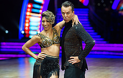 Graeme Swann and Karen Clifton attend the photocall for the 'Strictly Come Dancing' live tour at Arena Birmingham on 17 January 2019 in Birmingham, England. Picture date: Thursday 17 January, 2019. Photo credit: Katja Ogrin/ EMPICS Entertainment.