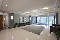 Architectural interior of Baltimore office building by Jeffrey Sauers of Commercial Photographics