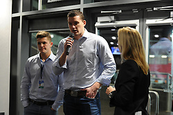 Ian Eves answers interviews in hospitality in the Heineken Lounge - Mandatory byline: Dougie Allward/JMP - 07966386802 - 06/11/2015 - RUGBY - Ashton Gate -Bristol,England - Bristol Rugby v Doncaster Knights - Greene King IPA Championship