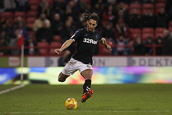 February 13, 2019 - Sheffield, South Yorkshire, United Kingdom - SHEFFIELD, UK 13TH FEBRUARY Ryan Shotton of Middlesbrough  during the Sky Bet Championship match between Sheffield United and Middlesbrough at Bramall Lane, Sheffield on Wednesday 13th February 2019. (Credit: Mark Fletcher | MI News) (Credit Image: © Mi News/NurPhoto via ZUMA Press)