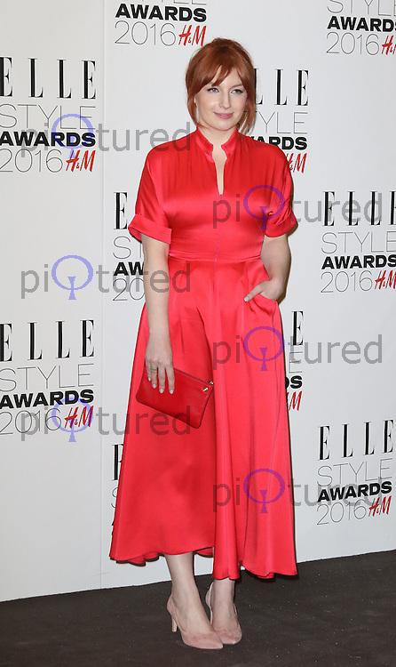 Alice Levine, ELLE Style Awards 2016, Millbank London UK, 23 February 2016, Photo by Richard Goldschmidt