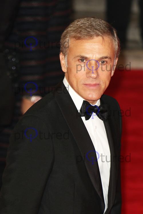 Christoph Waltz, Bond: Spectre - World Premiere & Royal Film Performance, Royal Albert Hall, London UK, 26 October 2015, Photo by Richard Goldschmidt