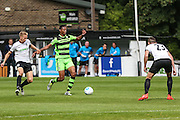Forest Green Rovers Ethan Pinnock (16) on the ball during the Vanarama National League match between Dover Athletic and Forest Green Rovers at Crabble Athletic Ground, Dover, United Kingdom on 10 September 2016. Photo by Shane Healey.