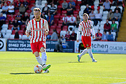 Stevenage Defender on loan from Tottenham Connor Ogilvie  during the Sky Bet League 2 match between Stevenage and York City at the Lamex Stadium, Stevenage, England on 12 September 2015. Photo by Simon Davies.
