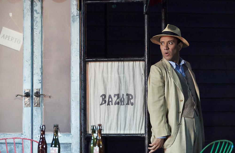 23nd June 2017.Il Turco in Italia, Rossini  at Garsignton Opera. <br /> <br /> <br /> Narciso Luciano Betelho.