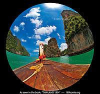 Passing Koh Hong on our tour of Phang Nga Bay