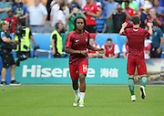 Portugal Midfielder Renato Sanches in the warm up during the Euro 2016 final between Portugal and France at Stade de France, Saint-Denis, Paris, France on 10 July 2016. Photo by Phil Duncan.