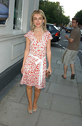 SAHAR HASHEMI at a party to launch the Acqualuna jewellery exhibition at Allegra Hicks, 28 Cadogan Place, London on 22nd June 2005.<br /><br />NON EXCLUSIVE - WORLD RIGHTS