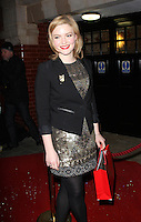 LONDON - DECEMBER 13: Holliday Grainger attended the English National Ballet Christmas Party at St Martins Lane Hotel, London, UK. December 13, 2012. (Photo by Richard Goldschmidt)