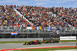 October 21, 2018 - Austin, United States - Motorsports: FIA Formula One World Championship; 2018; Grand Prix; United States, FORMULA 1 PIRELLI 2018 UNITED S GRAND PRIX , Circuit of The Americas#33 Max Verstappen (NDL, Red Bull Racing) (Credit Image: © Hoch Zwei via ZUMA Wire)