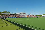 Eindhoven - Oranje Rood - Kampong  Heren, Hoofdklasse Hockey Heren, Seizoen 2017-2018, 05-05-2018, Halve Finale Playoffs, Oranje Rood - Kampong 1-1, Kampong wns, overzicht speelveld<br /> <br /> (c) Willem Vernes Fotografie