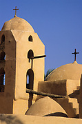 St Antony coptic monastery, nestled amount the mountains near the Red sea, is the oldest and biggest of the Coptics monasteries, founded in 4th century from disciples of St Antony. Here, in this desert, is born the Christian experience of the monks and monasteries. The monastery has a complex internal organisation that guarantees a total autonomy.
