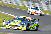 #46 Adrian Barwick/Bradley Ellis - Twisted Team Parker, Ginetta G55 GT4 during British GT Championship race two at Oulton Park, Little Budworth, Cheshire, United Kingdom. April 21 2014. World Copyright Peter Taylor/PSP. Copy of publication required for printed pictures.  Every used picture is fee-liable. http://archive.petertaylor-photographic.co.uk