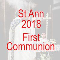 St Ann 2018 First Communion