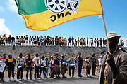 The body of Nelson Mandela returns for burial in his home village of Qunu in the Eastern Cape. South Africa<br /> <br /> Saturday 14th December 2013<br /> Picture by Zute Lightfoot