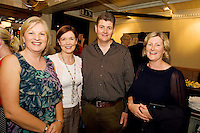 "19/7/2011. Mary Regan Ulster Bank, Caroline Miney, Ulster Bank with Paul and JAne Gilbane, Athenry in McSwiggans for the pre show reception of Propellors ""Comedy of Errors"" by Shakspeare in the Galway Arts Festival, sponsored by Ulster Bank. Photo:Andrew Downes"