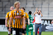 GOTHENBURG, SWEDEN - JULY 19: Andreas Alm, head coach of BK Hacken after the UEFA Europa League Qualifier match between BK Hacken and FK Liepaja at Bravida Arena on July 19, 2018 in Gothenburg, Sweden. Photo by Nils Petter Nilsson/Ombrello ***BETALBILD***
