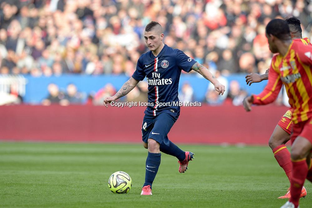 Marco VERRATTI  - 07.03.2015 -   PSG / Lens -  28eme journee de Ligue 1 <br />Photo : Andre Ferreira / Icon Sport